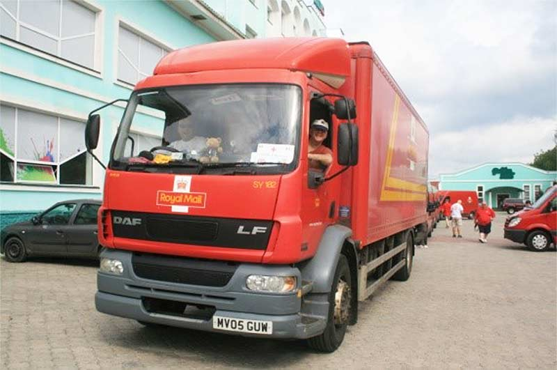 Royal Mail delivery truck