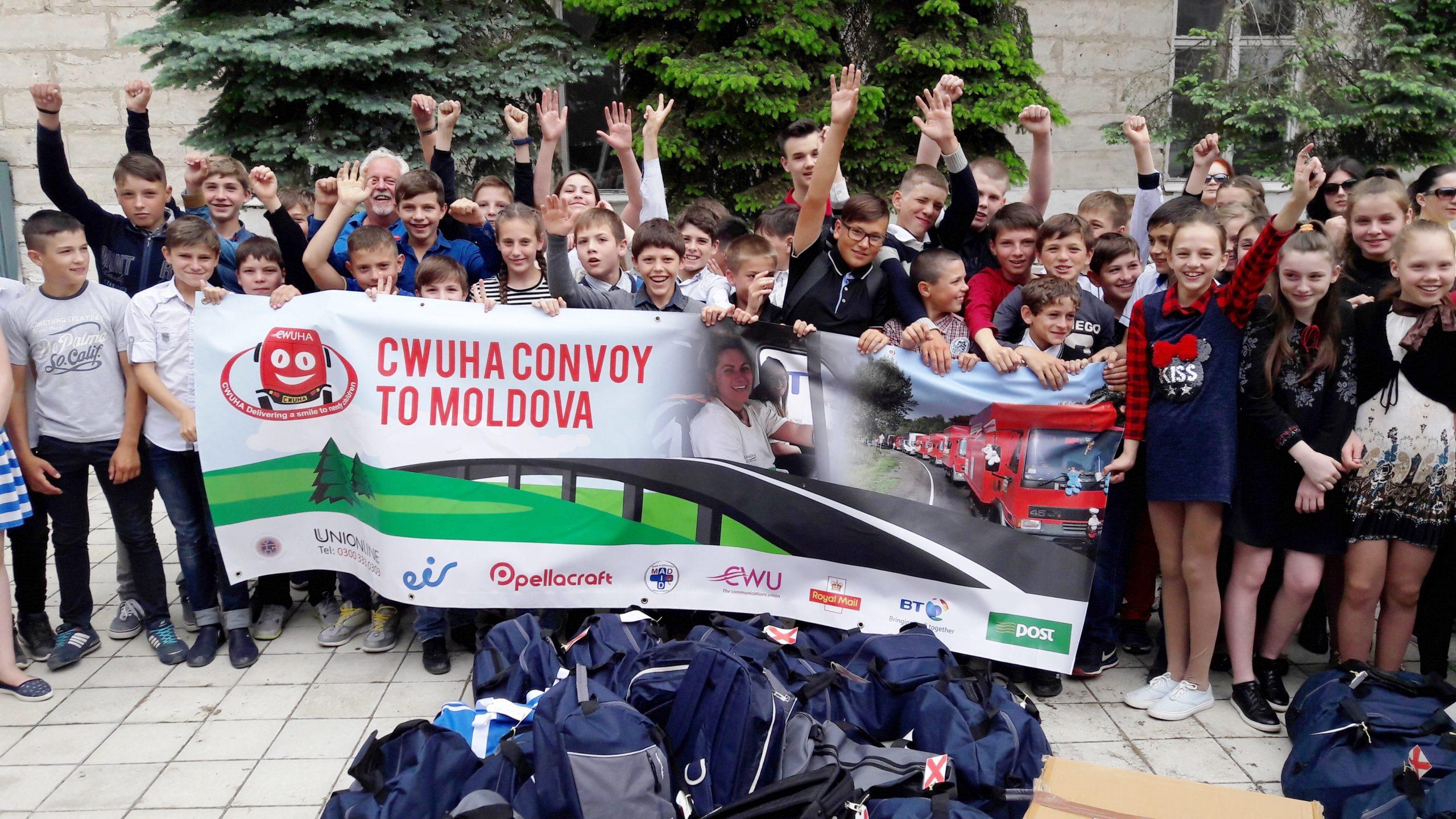 CWUHA Convoy to Moldova